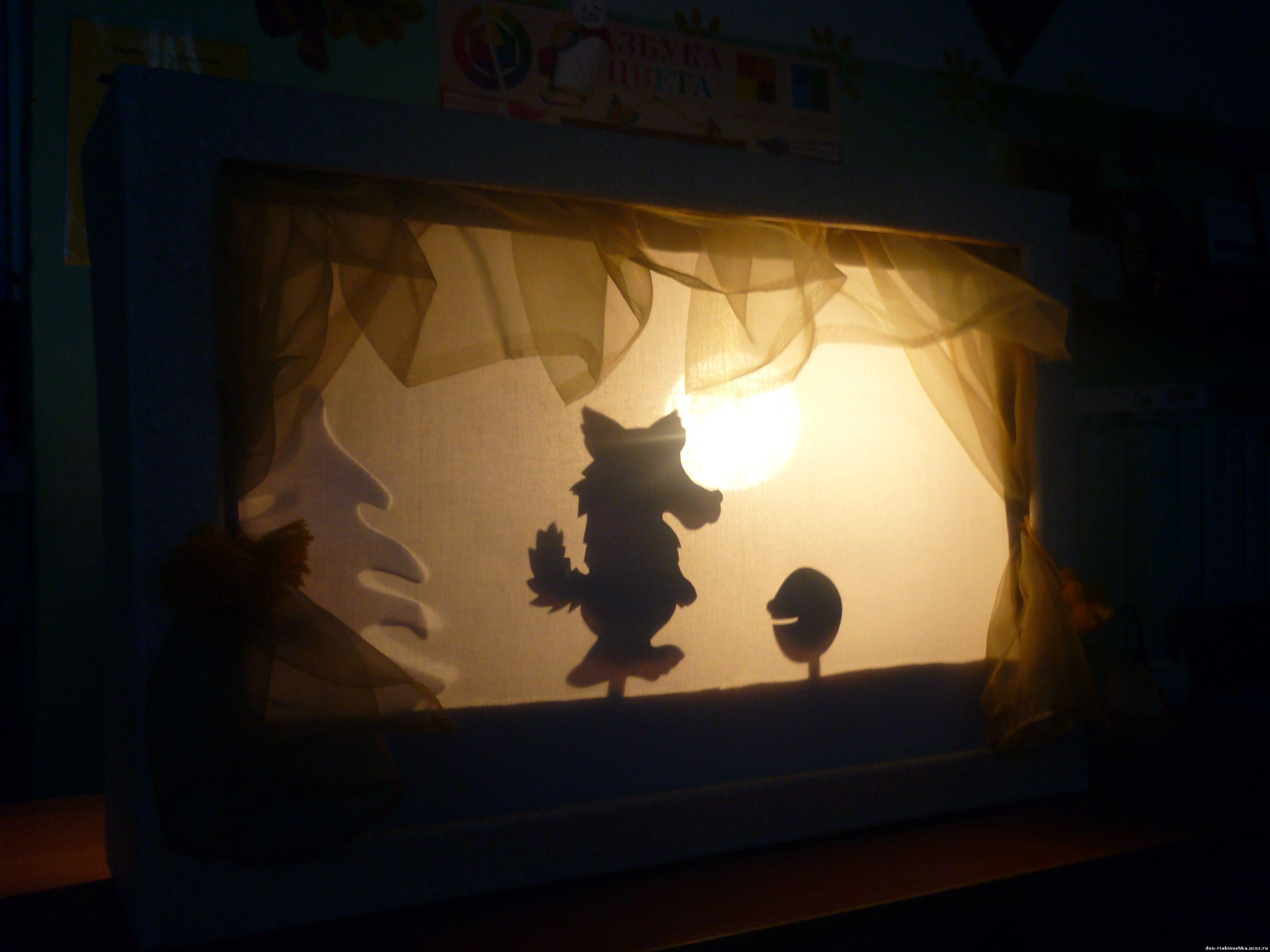 Как сделать тень на все фото